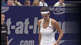 Julia Goerges - beautiful breasts in Linz 2010