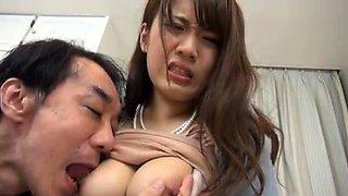Asian fetish slut blowjob milk enema
