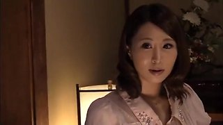 Japanese Cheating Wife Sucks Brother in Laws Big Cock