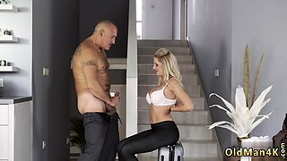 Old mom fucked hard and guy gym He came into her with fast a