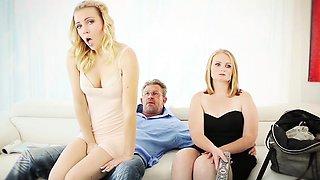 FamilyStrokes-Horny Pretty Stepdaughter Sucks Dick