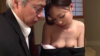 JAV father fucks step-daughter with sex toy