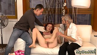Family taboo old young Unexpected experience with an older g