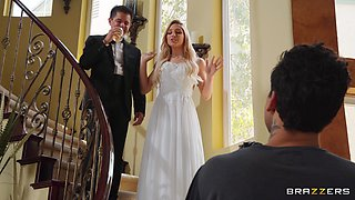 Bride Abella Danger does the deed with another man on the big day