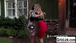AJ Applegate and Angela White start the spark between them and have some fun