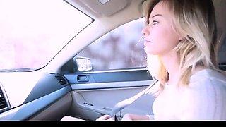 Schritt Schwester fucking mit Bruder im Auto