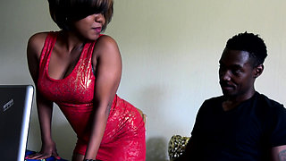 Big Ass African Amateur Fucked On Kitchen Table