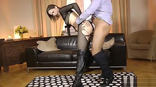 UK schoolgirl drilled doggystyle by old man