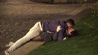 Outdoor night sex compilation