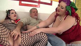 eliza allure & jordyn luxxx share cock