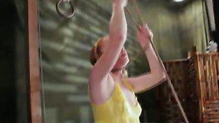 Teen in the bondage video
