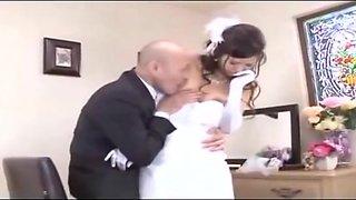 Japanese bride pre marriage ritual