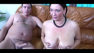Sperma addict monster tits horny german housewife #1 b$r
