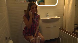 Jenny Manson Making Him Cuckold as punishment to husband for cheating - www