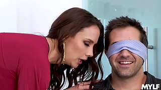 Cuckold husband loves watching Chanel Preston having sex with a BBC