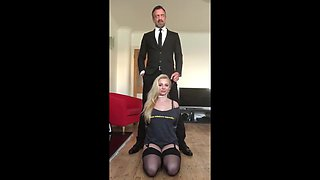 PASCALSSUBSLUTS - Young Busty Violet Vulgarity Ass Dominated
