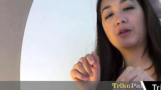 Asian Filipina Hooker Gets Finger Fuck