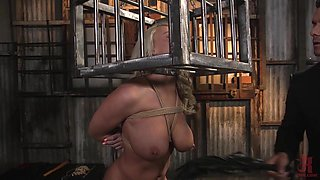 Hot MILF is bored with her sex life and decides to have sex with a real stud