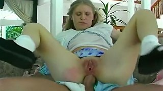 Babysitter Gets Fucked By Infantile Men