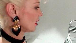 Iam Pierced kinky mature with pussy piercings anal sex