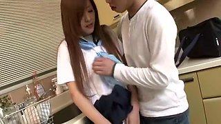Suzuka Ishikawa Uncensored Hardcore Video with Gangbang, Swallow scenes