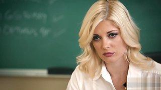 Stunning lesbian teacher face sitting on milf