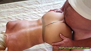 Smoking hot pantyhose adventures with ms paris rose