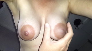 Wifes Hanging Tits