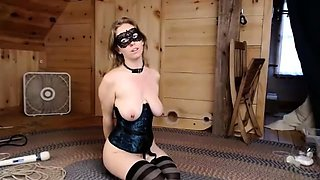 Sultry webcam milf with big tits has a passion for bondage