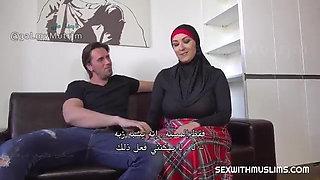 BBW BIG TITS HIJAB HOME SEX