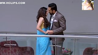 Very Sexy Blue Saari Removing n Kissing Very Very Romantic Sexy