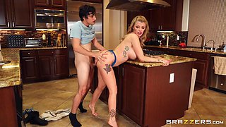 Moms Got New Boobs Free Video With Joslyn James - BRAZZERS