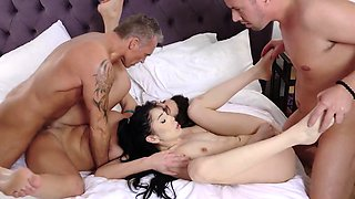 Lustful couple ask stepson and stepdaughter to have an orgy