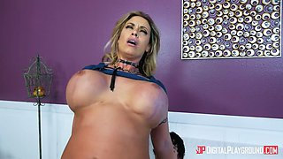 MILF cant wait till she gets that younger dick