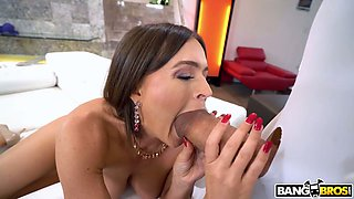 Massive aggressive dong is not a problem for complete whore Krissy Lynn
