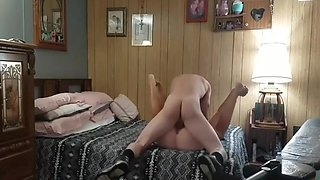 After a good pounding hot brunette had me cum inside her pussy