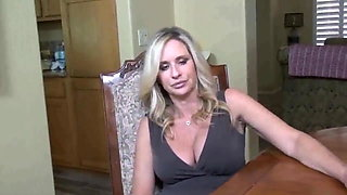 Sexy mature MILF jerks off