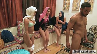 Teen blowjob lesassociate crony Hot arab dolls try foursome