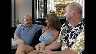 Satisfying the wife of fantasy (BBC gangbang & Lesbian)