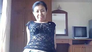 Asian Mature Webcam 3...HK