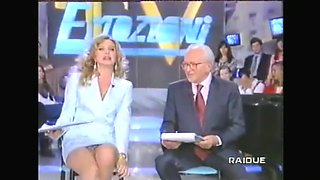 Compilation of pussy flashing on TV
