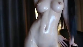Korean bj oiled