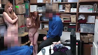 Teen and busty mature stepmom suspects punish fucked