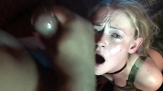 Kinky Tink Extreme BBC Throat Abuse Gagging Deepthroat