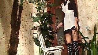 Mistress Talina and her toilet slave