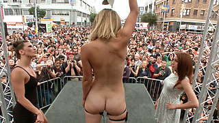 Folsom Street Spectacle The Ultimate Humiliation Of Mona Wales - PublicDisgrace