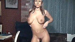 TIL I COME - British big tits nude dancer