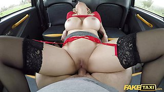 Fake Taxi Amber Jayne fucked showing off her new juggs