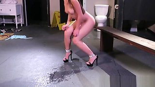 Squirting asian facial