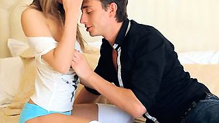 Aggressive lovemaking with true woman